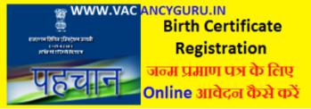 birth certificate online registration