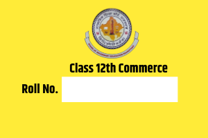 RBSE 12th Commerce Roll wise Result 2020