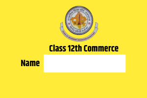 RBSE 12th Commerce Name wise Result